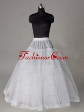 Lace Edge Ball Gown Organza Floor Length Wedding Petticoat ACCPET02FOR