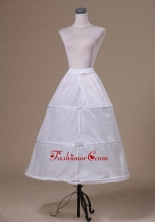 Modest Organza Floor Length Wedding Petticoat ACP027FOR