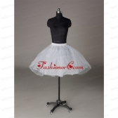 Most Popular Organza Ball Gown Mini-Length Petticoat in White ACCPTI008FOR
