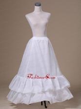 Popular Taffeta Floor Length Petticoat ACP022FOR