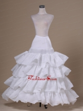 Ruffled Layers Ball Gown Taffeta For Prom Petticoats ACP045FOR