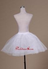 Sweet Mini Length White A line Petticoat ACP032FOR
