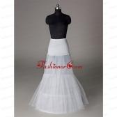 Trendy Organza Mermaid Floor-length White Petticoat ACCPTI006FOR