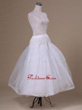Tulle Floor Length White Petticoat ACP036FOR