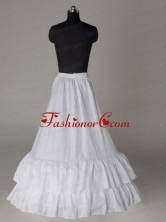 Two Layers A line Taffeta Floor Length Petticoat ACCPET05FOR