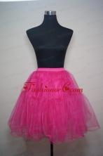 Unique Organza Mini Length Prom Petticoat in Hot Pink ACCPTI002FOR