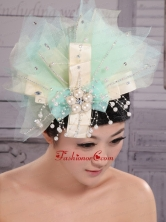 2013 New Arrival Multi-color Headices With Imitation Pearls Decorate XTH088FOR