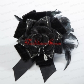 2014 Beautiful Fascinators with Imitation Pearls and Feather ACCHP100FOR