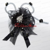 2014 New Arrival Fascinators with Beading Imitation Pearls and Rhinestone ACCHP108FOR