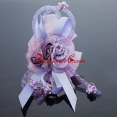 2014 Pretty Beading Tulle Lavender Hair Ornament ACCHP097FOR