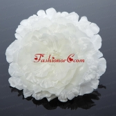 2014 Simple White Tulle Fascinators for Outdoor ACCHP073FOR