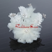 2014 Beautiful Lace and Tulle Watermelon Fascinators ACCHP037FOR