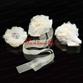 Affordable Lace and Rhinestone Fascinators For 2014 ACCHP106FOR