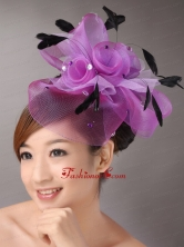 Bbaading Decorate Net and Feather For Wedding Party TH066FOR