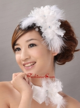 Beautiful Fascinator Wedding and Outdoor Organza Fascinators TH086FOR
