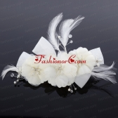 Beautiful Feather Watermelon Pearl Feather Fascinators ACCHP020FOR