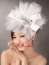 Beautiful Imitation Pearls Wedding and Outdoor Fascinators TH082FOR