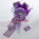 Beautiful Lavender Tulle Feather Hair Ornament ACCHP091FOR