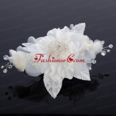 Beautiful Pearls Blue Tulle Fascinators Hair Flower ACCHP006FOR