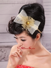 Bowknot and Rhinestone For Lovely Headpieces XTH030FOR