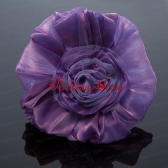 Cheaop Organza Purple Fascinators for Women ACCHP068FOR