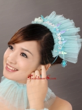 Classical Tulle Beaded Special Occasion Fascinators TH011FOR