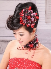 Colorful Fabric and Little Flowers For Headpieces XTH024FOR