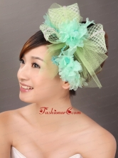 Colorful Tulle Beaded Wedding Fascinators TH006FOR