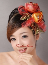 Colorful Vintage Style Wedding Headpieces TH041FOR