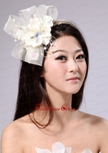 Cute Tulle Fascinators  Hairband With Beading And Ribbons  XHT001FOR