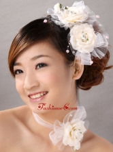 Elegant Fascinator Tulle Wedding and Outdoor Imitation Pearls TH088FOR