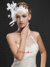 Elegant Feather Beaded Flowers Ribbons Women s Fascinators UNION29T018FOR