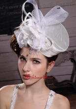 Fashionable Feather Ribbons Bridal Hat Headpiece XTH102FOR