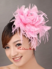 Feather Lovely Beaded Fascinators For Wedding Party TH007FOR
