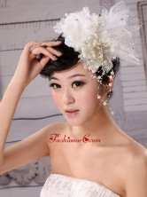 Hand Made Flower Fascinators Pure Tulle With Imitation Pearls  XTH006FOR