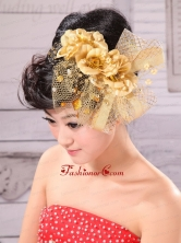 Hand Made Flowers Decorate and Tulle For Wedding Party XTH026FOR