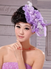 Lavender High Quality Headpieces Wholesale XTH041FOR
