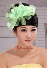 Lovely Taffeta and Tulle Beading Women s Fascinators For Party XTH101FOR