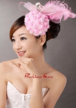Lovely Tulle and Feather Beading Fascinators TH037FOR