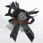 Luxirious Lace Feather and Rhinestone Fascinators For 2014 ACCHP067FOR