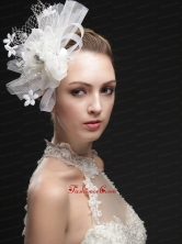 Luxurious Net Women s Fascinators With Hand Made Flowers And Ribbons UNION29T021FOR