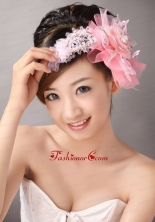 Pretty Tulle and Taffeta Beading Hair Combs TH036FOR