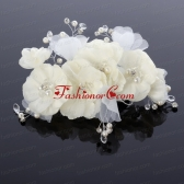 Pure Imitation Pearls Wedding Hair Flower for Summer ACCHP013FOR
