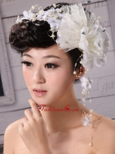 Pure Tulle and Chiffon With Imitation Pearls Fascinators XTH007FOR