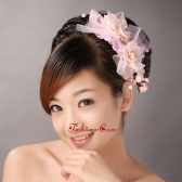 Sweet Baby Pink Imitation Pearls Headpieces For Party TH039FOR