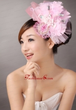 Sweet Tulle With Feather Beading Fascinators TH035FOR
