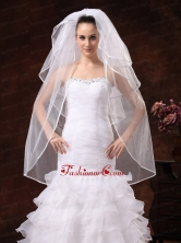Beautiful Four Tier Organza Wedding Veil RR091304FOR