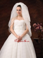 Beautiful Organza and Three Tier Veil For Wedding HM8708FOR