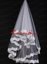 Bridal Veil With Lace On Sale ACCWEIL03FOR