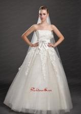 Lace Appliques Tulle Graceful Wedding Veil UNION29T03FOR